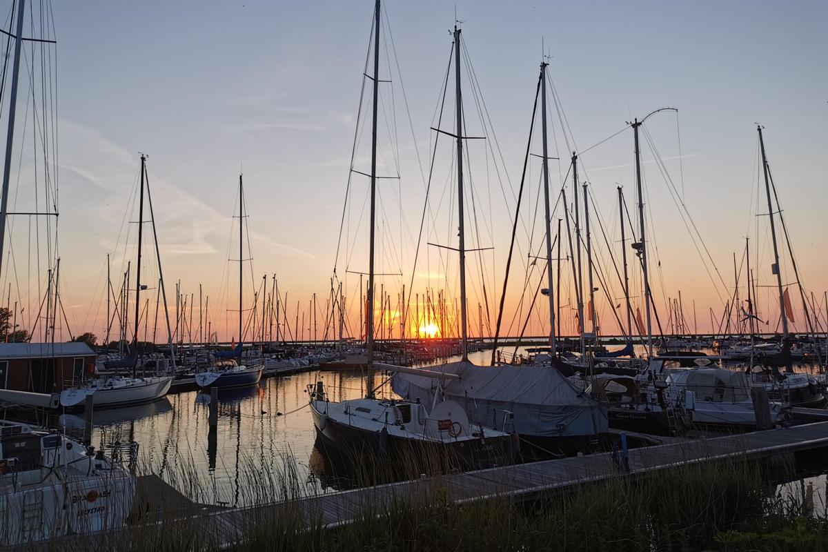 Liegeplatz Flevomarina Ijsselmeer bei Lelystad
