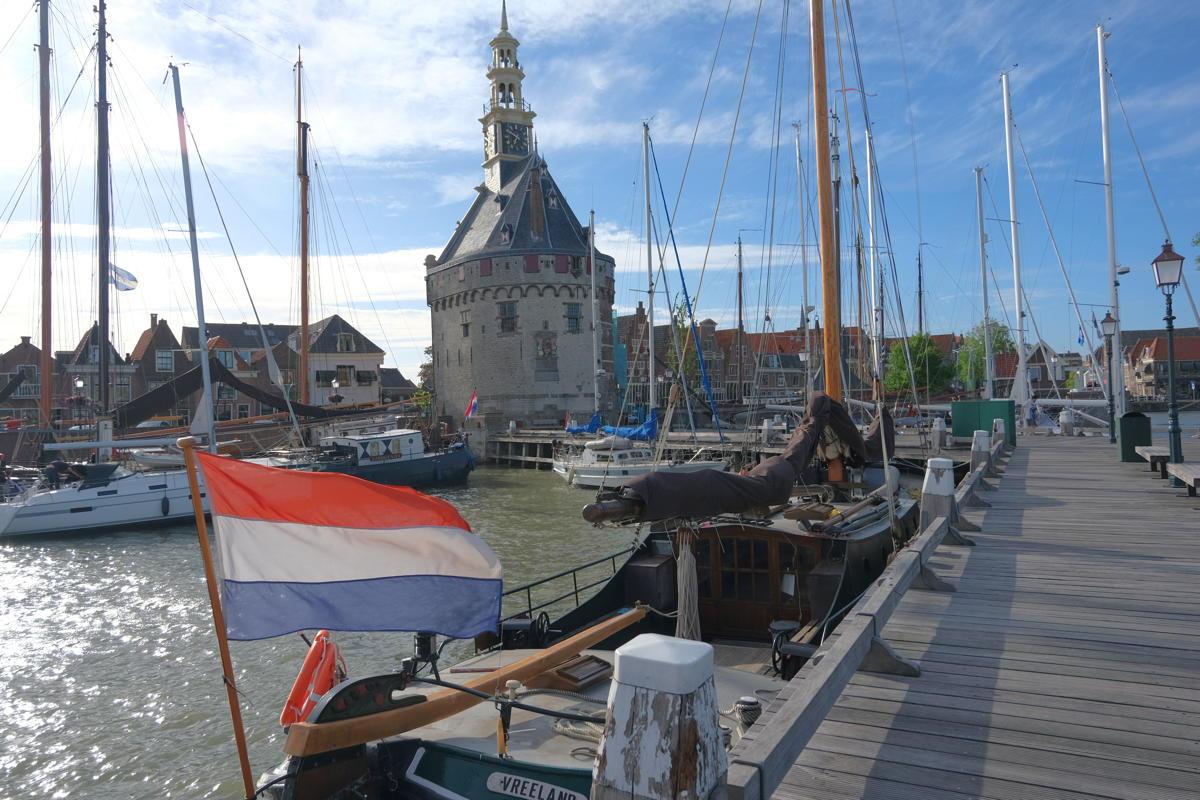 Ijsselmeer, alter Hafen Hoorn